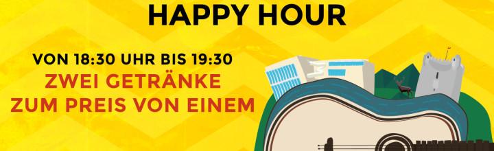 Zwei Getränke zum Preis von einem – Happy Hour