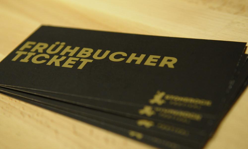 Frühbuchertickets ab Montag verfügbar