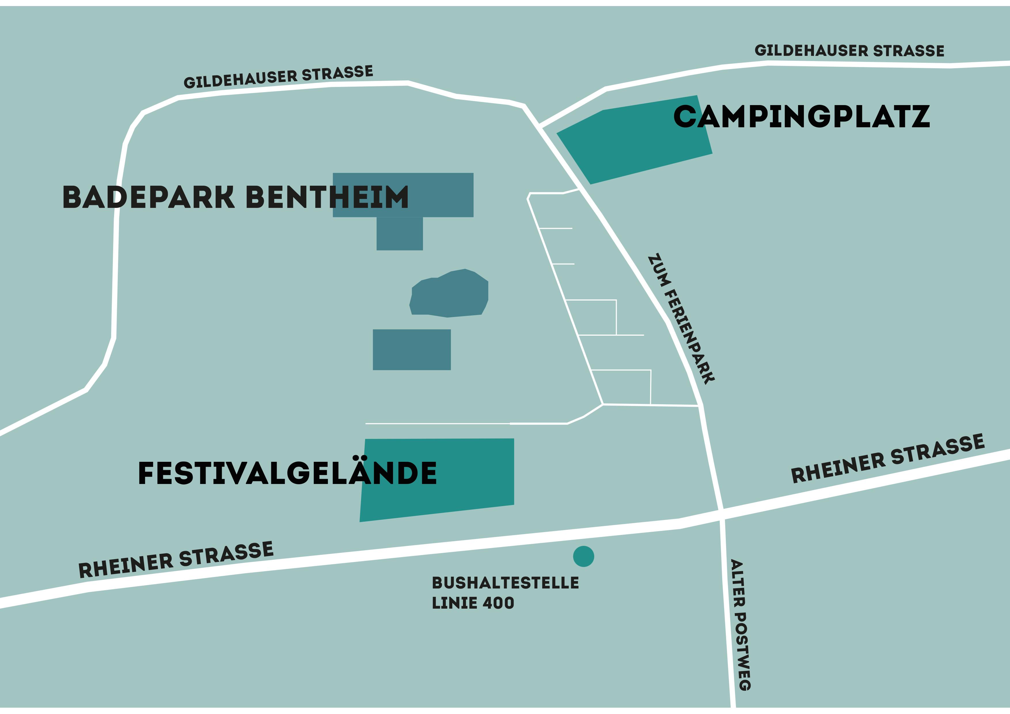 Camping Lageplan
