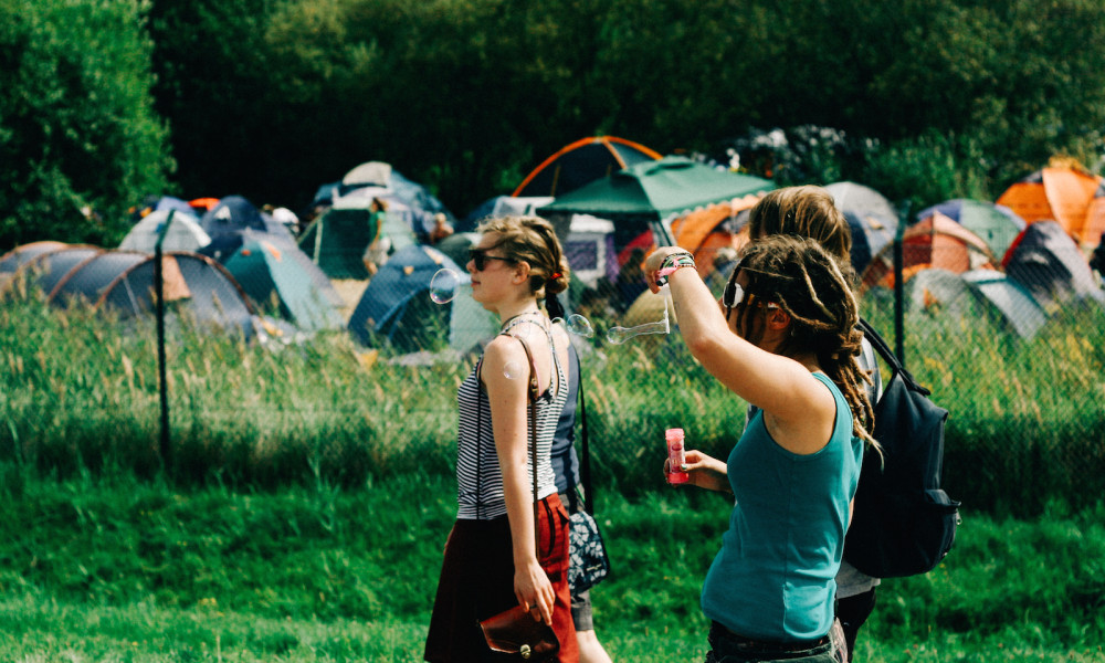 Campingplatz beim StoneRock 2015