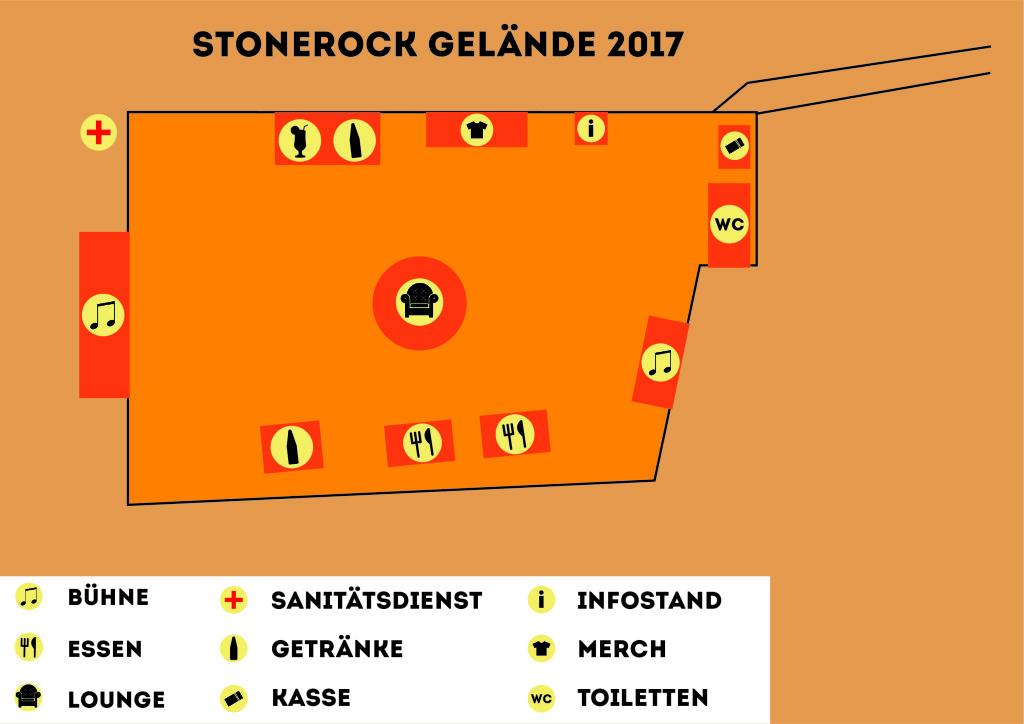 Geländeplan Besucher